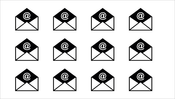 Opened Email Envelope Free Icon