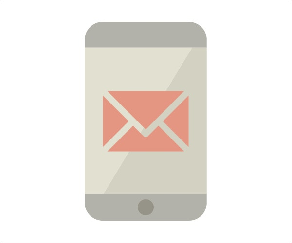 smartphone free email icon
