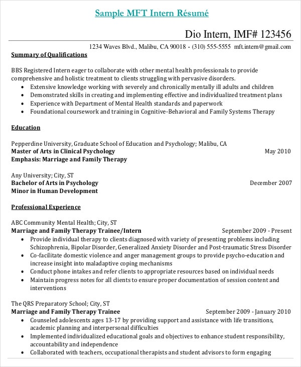 Exceptional Internship Resume PDF Doc For Medical Assistant