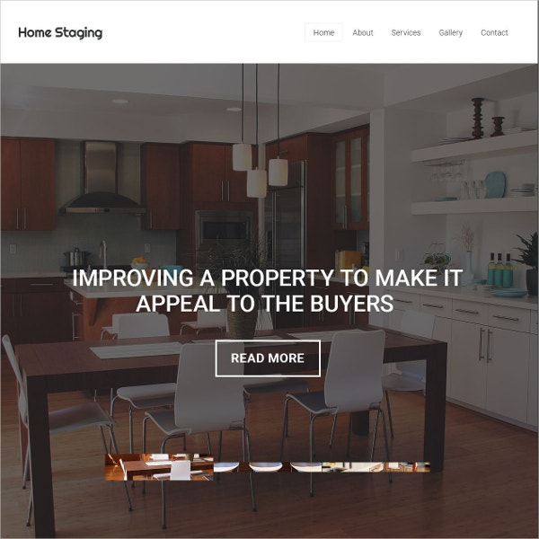 Real Estate Property Website Template $69