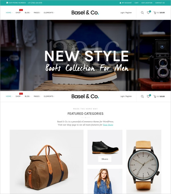 Boys Collection eCommerce Website Theme $59