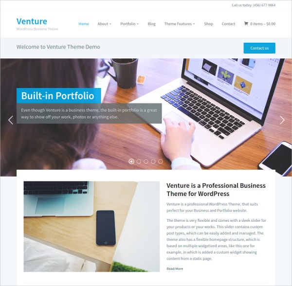 Professional eCommerce WordPress Website Theme