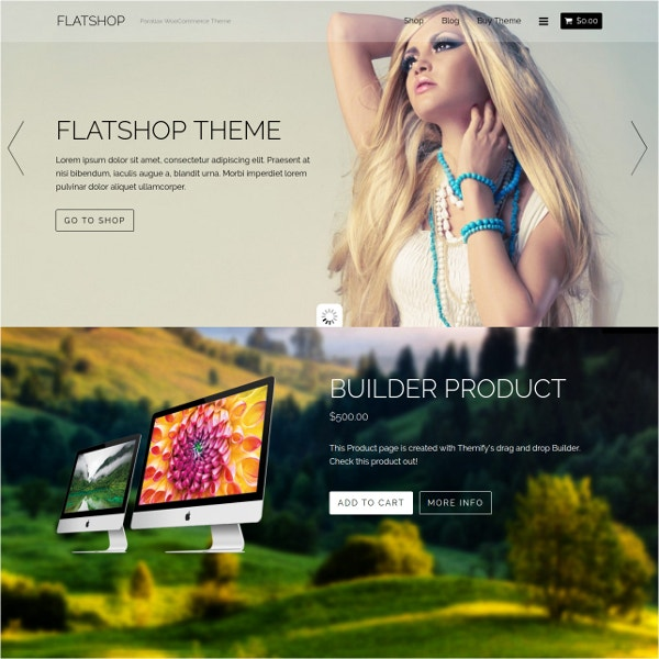 Beautiful Free eCommerce WordPress Website Theme