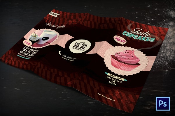 chocolate cake brochure