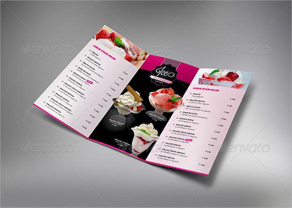 Chocolate Tri-Fold Brochure