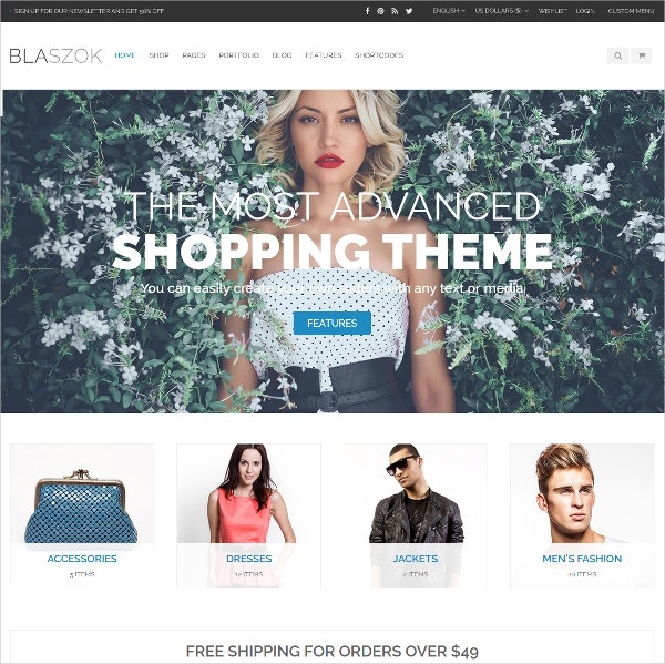 corporate ecommerce website theme 59