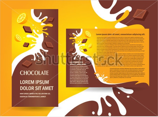 chocolate fruits brochure