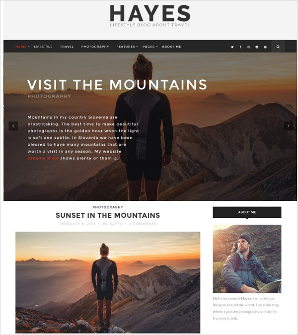personal blog wordpress theme 39