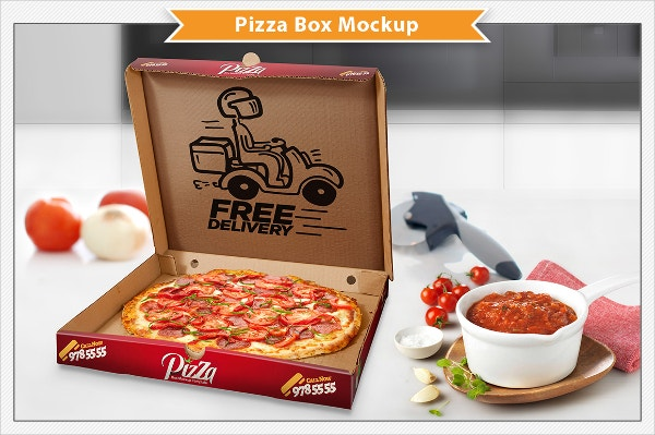 Design Pizza Box Template