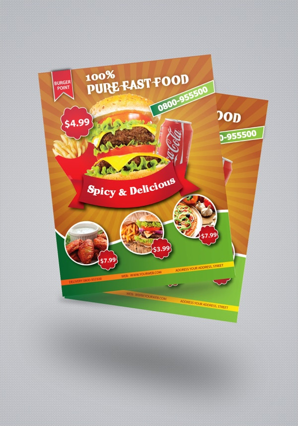 Pure Fast Food Brochure