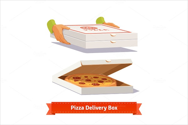 pizza delivery box template