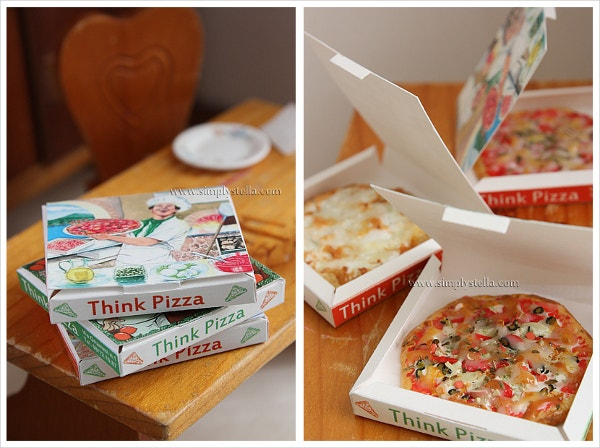 Handmade Pizza Box Template