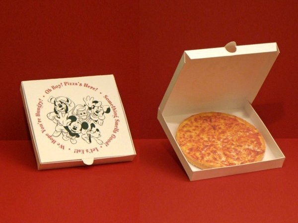 Disney Pizza Box Template