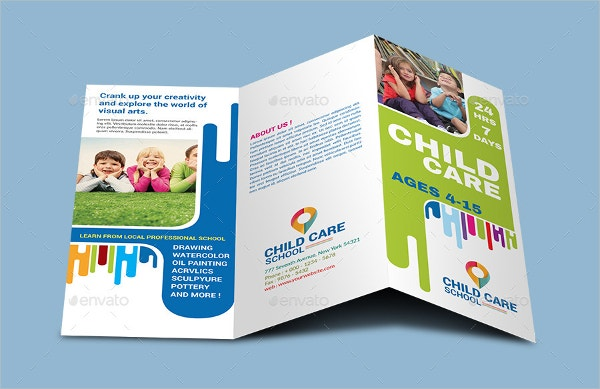 Corporate Child Care Brochure