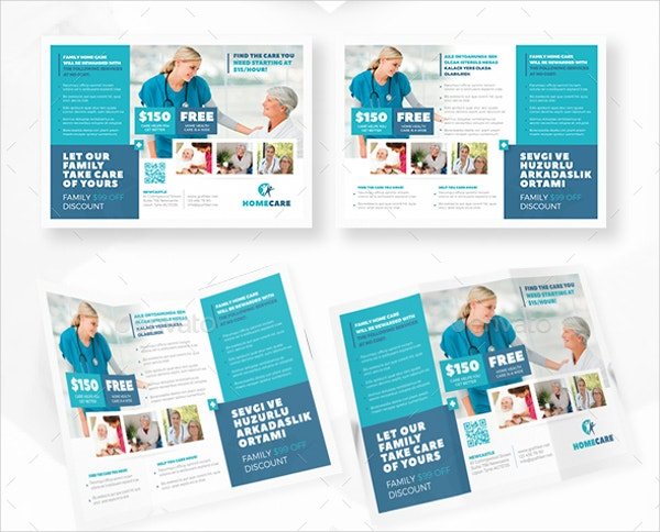 Home care brochure 9 free psd ai eps format download for Home care brochure template