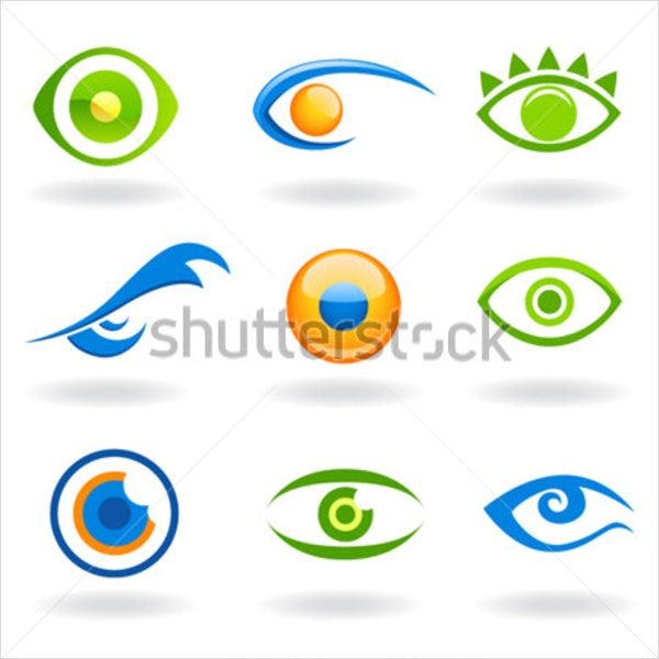 Set of Eye Logos Vector
