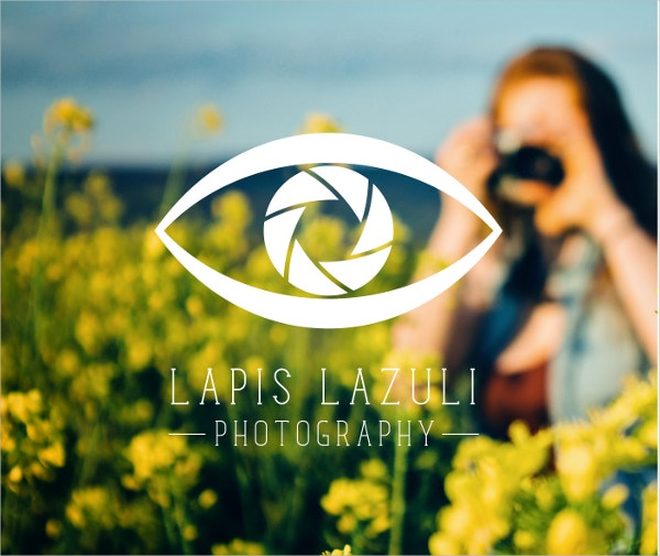 Camera Lens Eye Logo