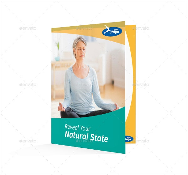 Half Fold Yoga Brochure