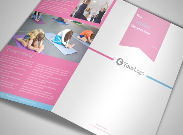 18 yoga brochures free psd ai eps format download for Yoga brochure templates free