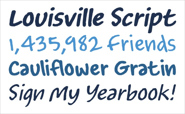 Louisville Script