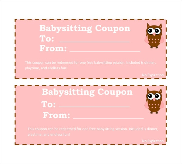 14 coupon templates free sample example format free premium