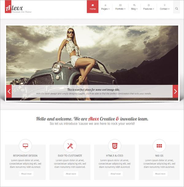 Multipurpose Pportfolio HTML5 Theme $18