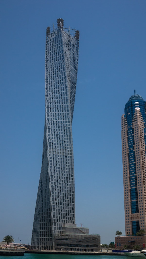 Cayan Tower Building Architecture Design