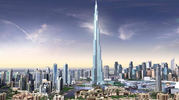 Tallest Burj Khalifa Buidliung Best Design