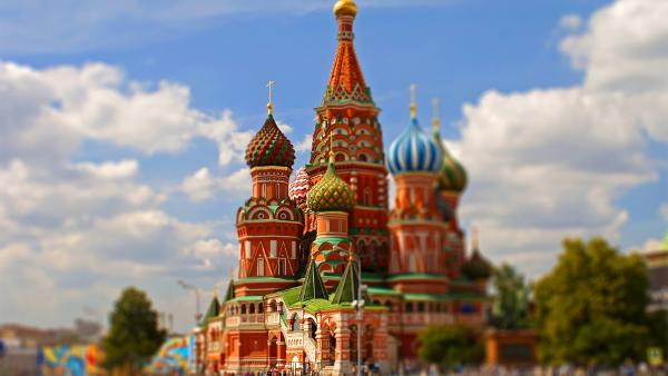 Moscow Russia Kremlin Design