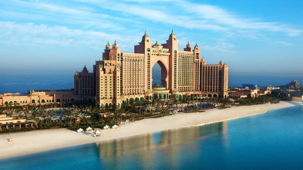 Hotel Architectural Design Near Sea