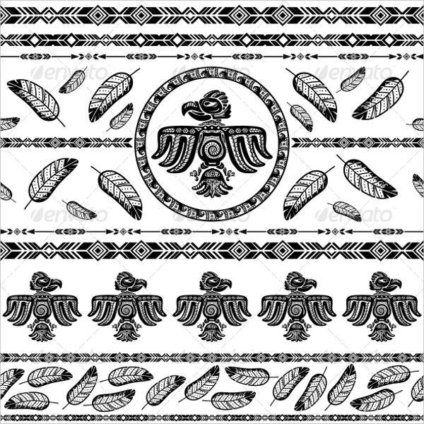 Indian Tribal Pattern