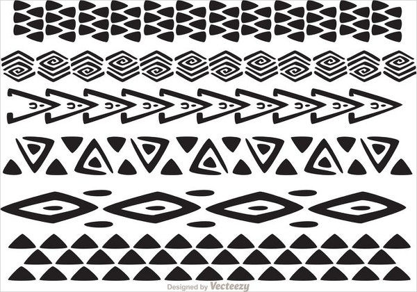 hawaiian tribal pattern