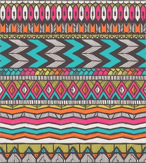 Vector Tribal Pattern