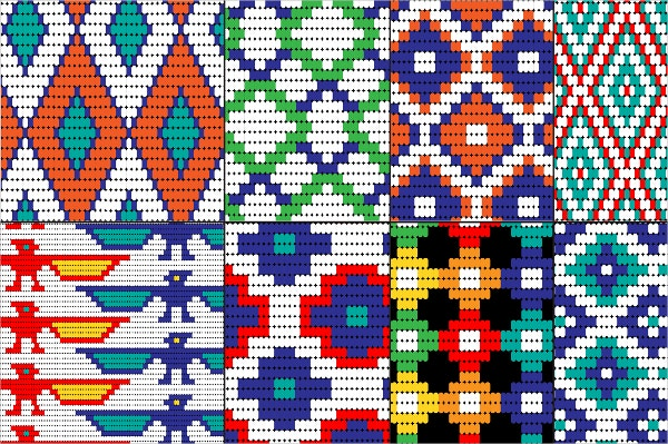 Bead Tribal Pattern