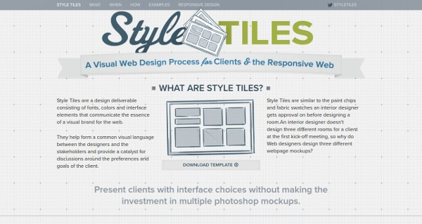 Style Tiles Guide