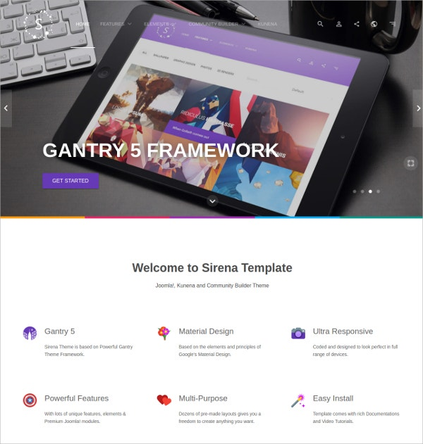 Business & Corporate Premium Joomla Template $59