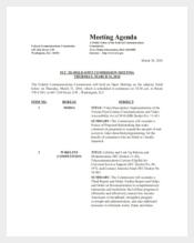 Christian Family Meeting Agenda