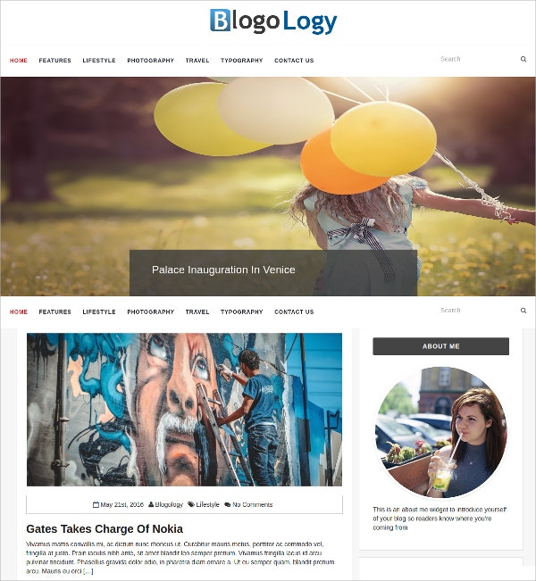 Personal Magazine WordPress Blog Theme $59