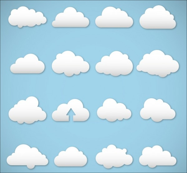 Cloudy Weather Icons