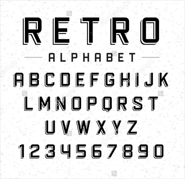 18 retro fonts free otf ttf format download free premium retro alphabet font stopboris Images