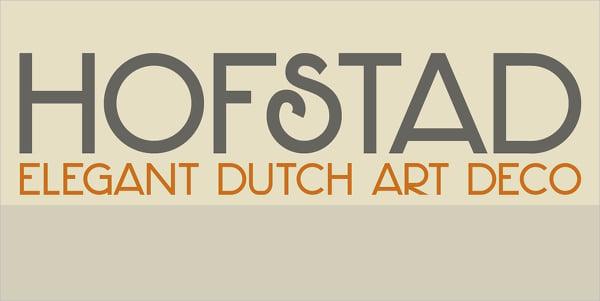 Hofstad Retro Font