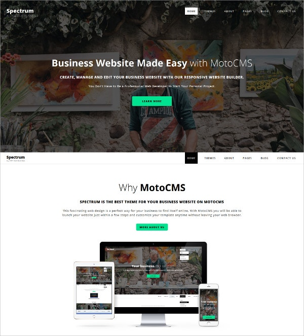 Business HtML5 Website Template $199
