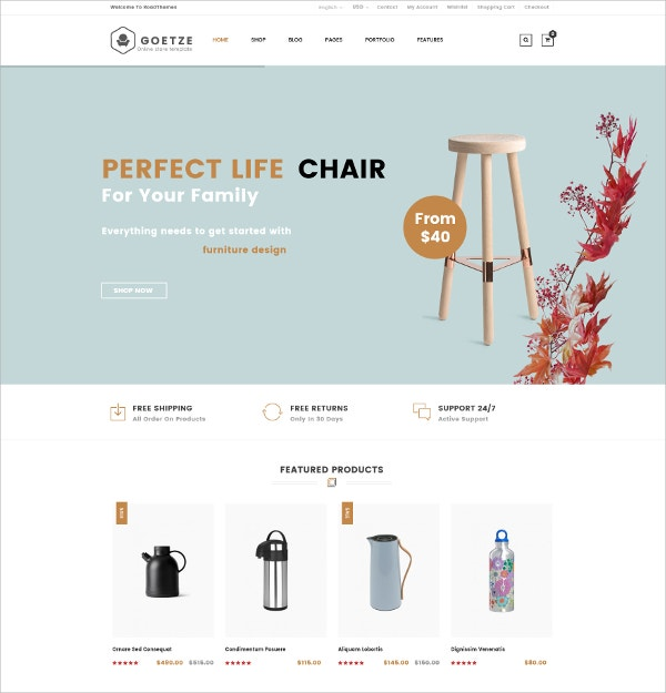 Mega Store eCommerce WordPress Theme $59