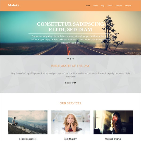 Free Premium Responsive WordPress Website Theme