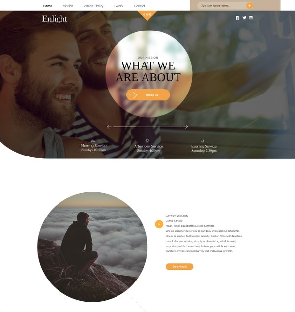 Church Muse Website Theme