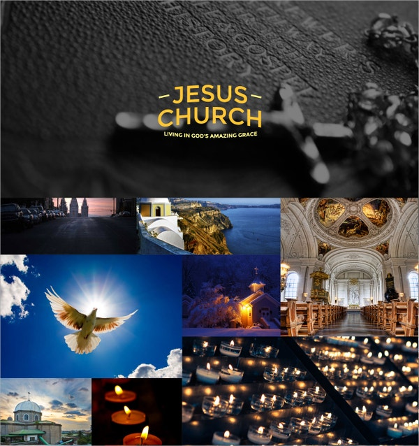 Jesus Church One Page Website Theme $12