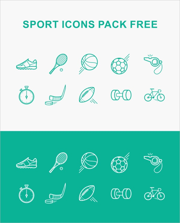 sport icon pack free