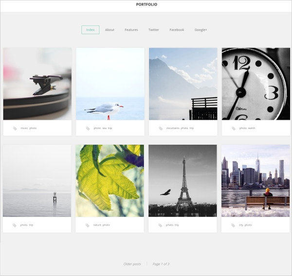 31 Free Creative Photography Website Themes Templates Free Premium Templates