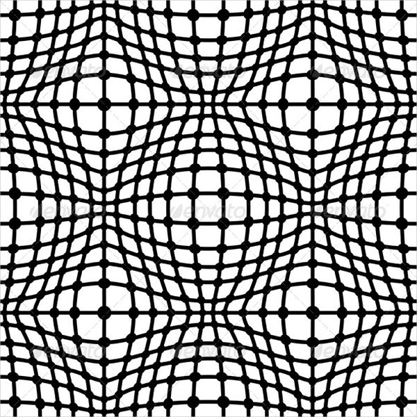 Black & White Geometric Pattern