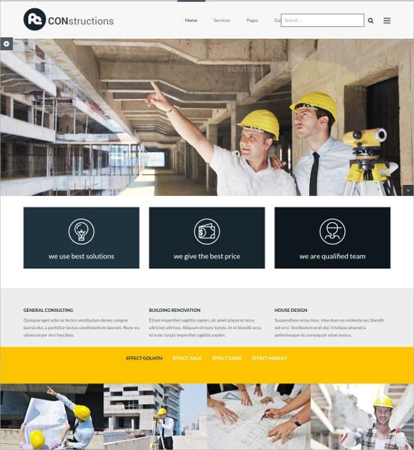 Business Website WordPress Theme $39